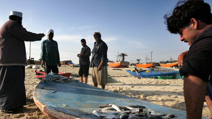 Израиль полностью закрыл рыболовную зону у берегов сектора Газа