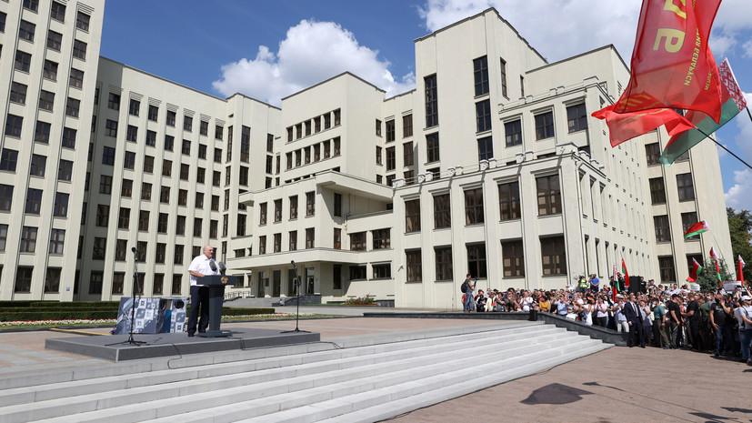 Лукашенко заявил, что Белоруссия может повторить судьбу Украины