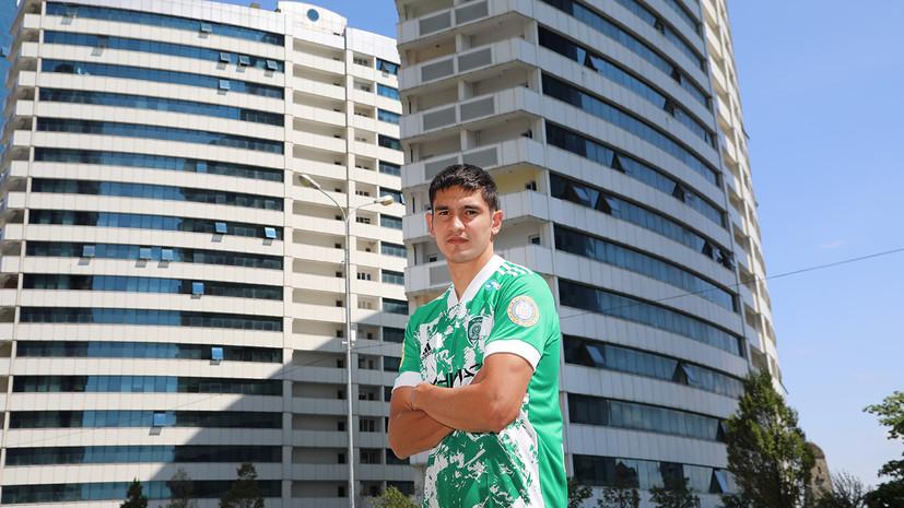 «Ахмат» объявил о переходе футболиста сборной Казахстана Быстрова