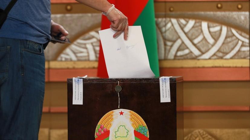 Англия  сообщила , что непризнает результаты  выборов президента Республики Беларусь