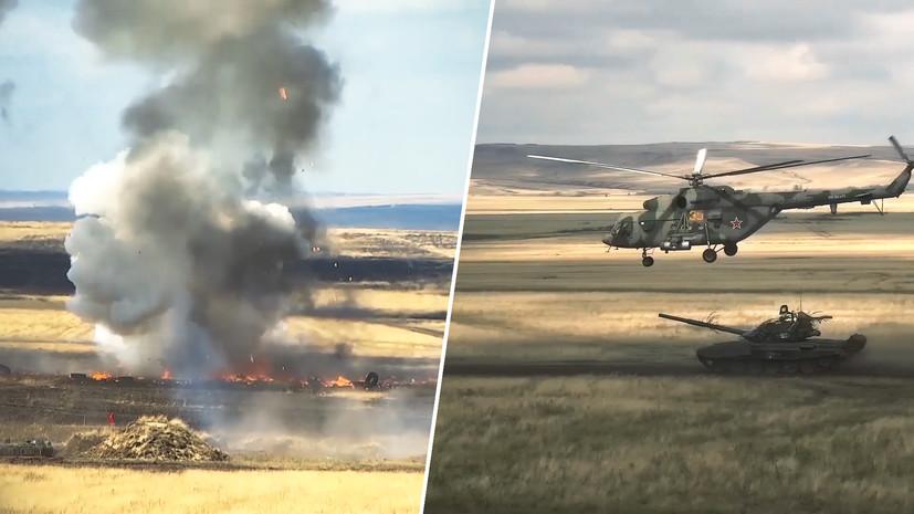 В Кузбассе и Оренбуржье проходит активная фаза учений двух армий ЦВО