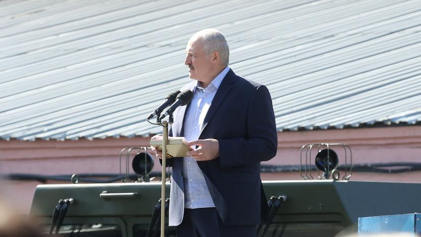 Лукашенко заявил, что ему звонила Меркель