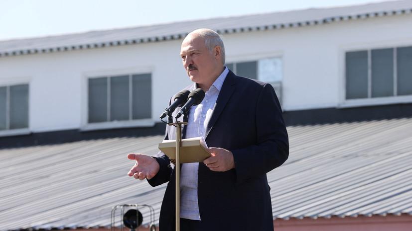 Лукашенко заявил, что оппозиции предлагали пересчёт голосов