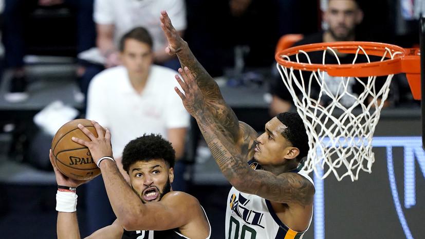 «Юта» уступила «Денверу» в первом матче плей-офф НБА, несмотря на 57 очков Митчелла