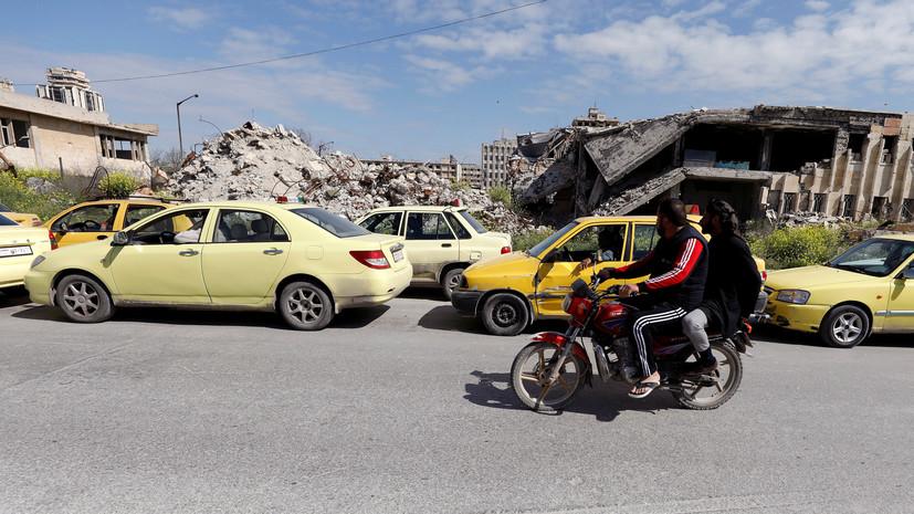 Террористы обстреляли населённые пункты в Алеппо