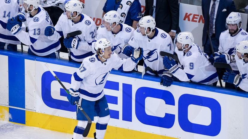 «Тампа» одолела «Коламбус» в матче плей-офф НХЛ, Василевский отразил 28 бросков