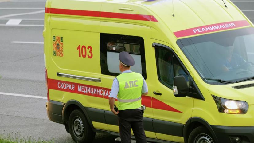 Семь человек госпитализированы после ДТП с автобусом под Оренбургом