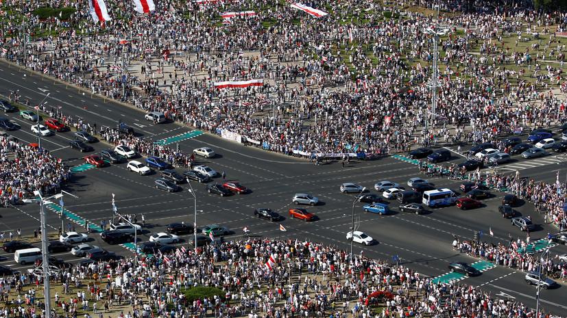МВД Белоруссии обратилось к гражданам страны