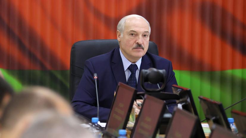 Лукашенко сообщил о приведении армии в боеготовность