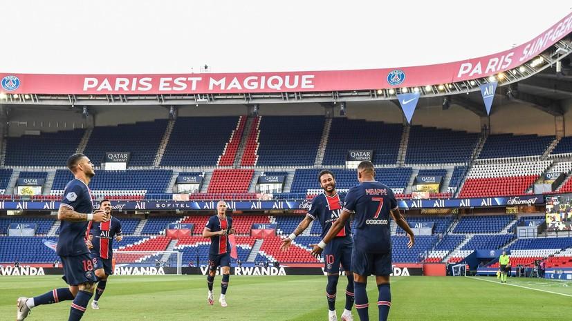 ПСЖ повторил рекорд «Реала», забив в 34 матчах ЛЧ подряд