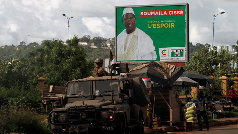 Мятежные военные в Мали объявили о создании нацкомитета спасения