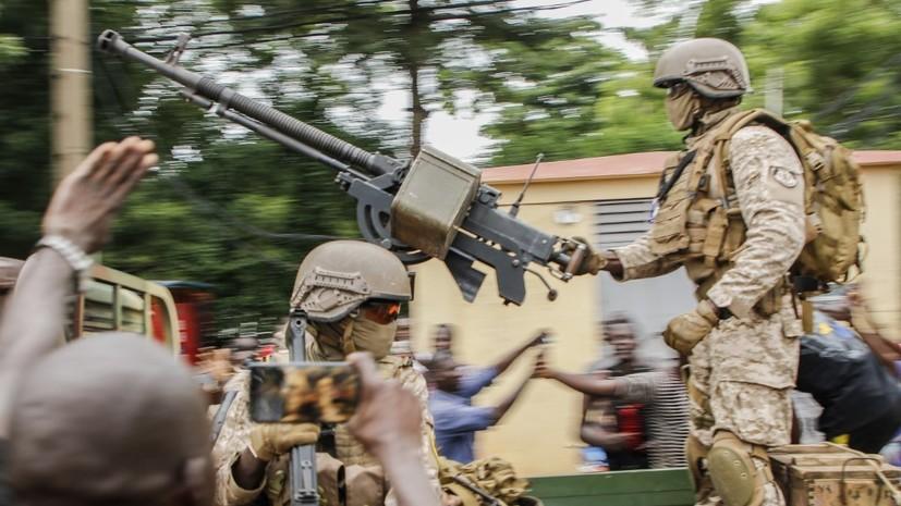 Россияне во время военного мятежа в Мали не пострадали