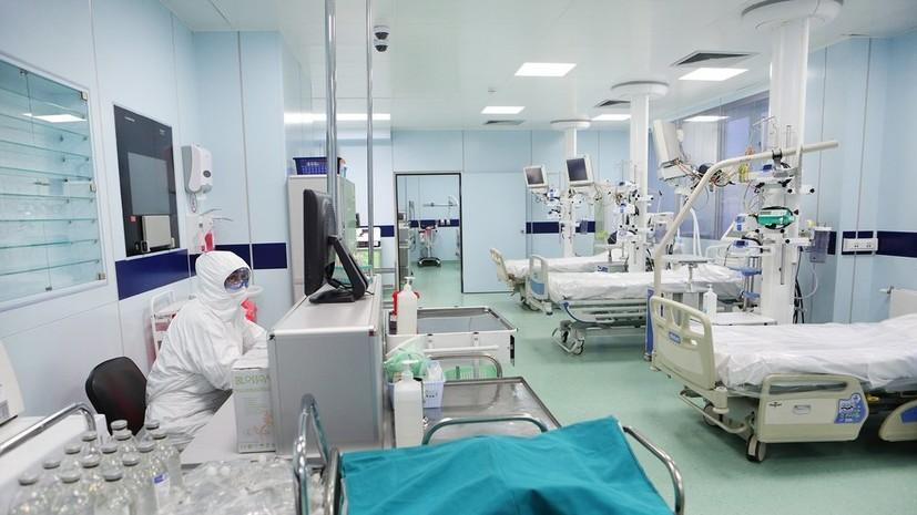 В России за сутки умерли 117 пациентов с коронавирусом
