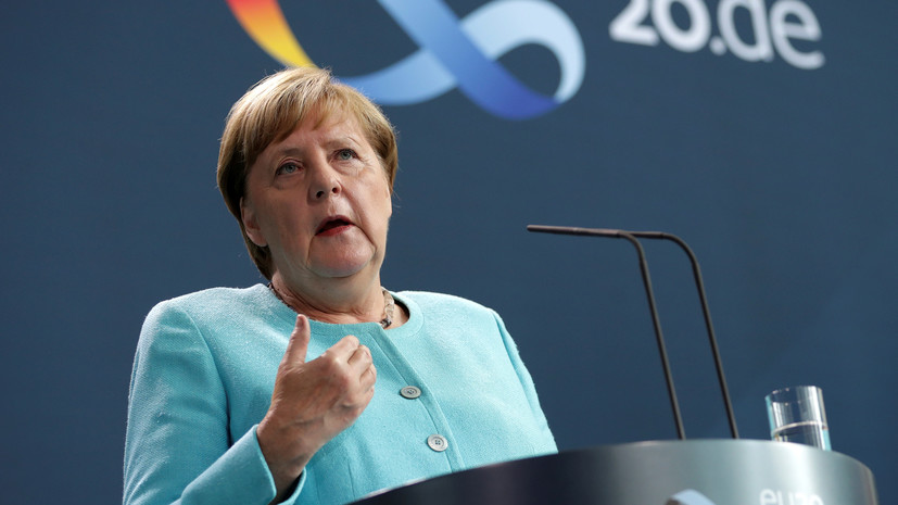 Меркель: Белоруссия должна сама выбрать независимый путь