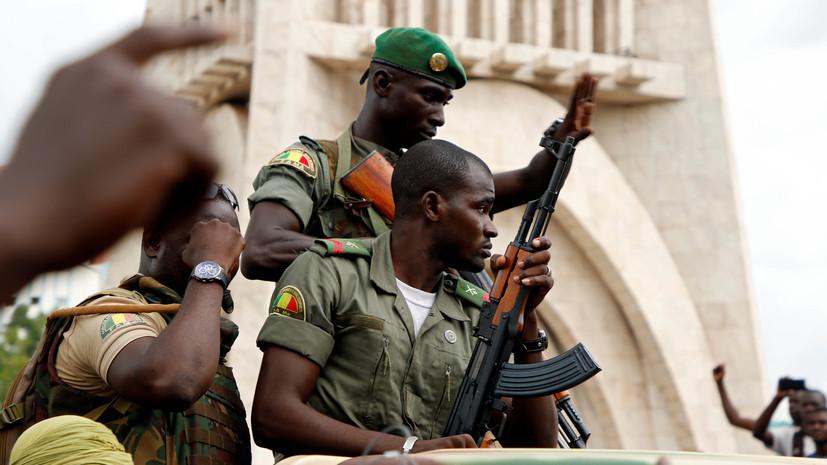 Африканский союз осудил военный мятеж в Мали