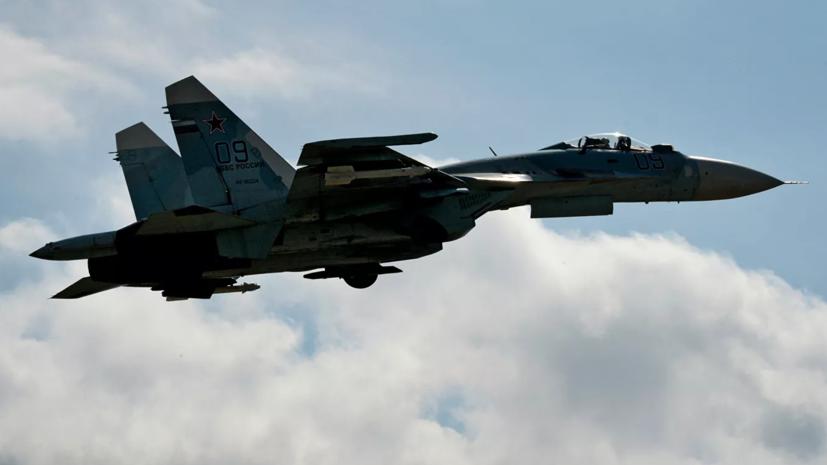 Су-27 поднимался на перехват самолёта ВВС США над Балтикой