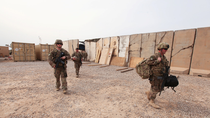 Трамп рассказал о выводе американских войск из Ирака