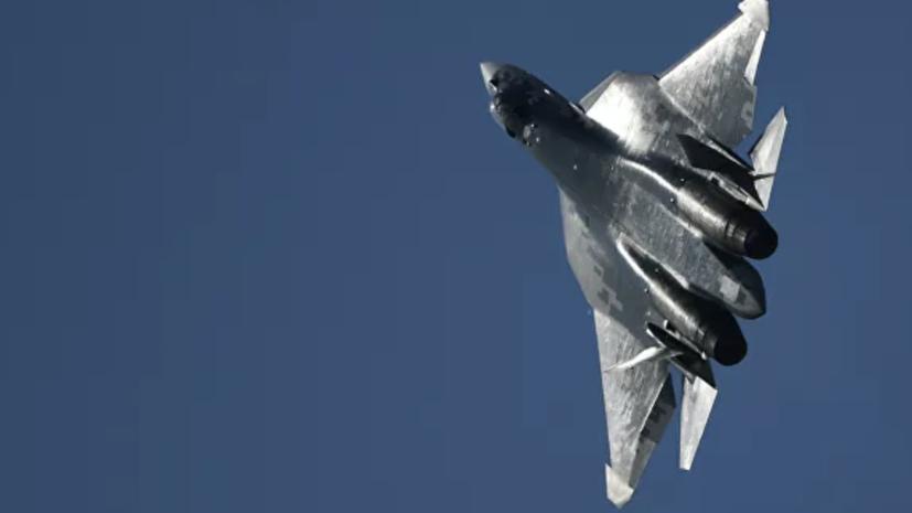Экспортный вариант истребителя Су-57 представят на форуме «Армия-2020»