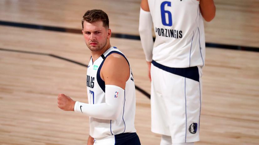 Дончич превзошёл достижение Абдул-Джаббара в плей-офф НБА