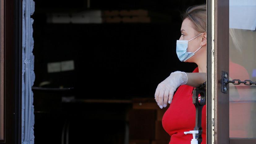 На Украине за сутки выявлено 2134 случая коронавируса