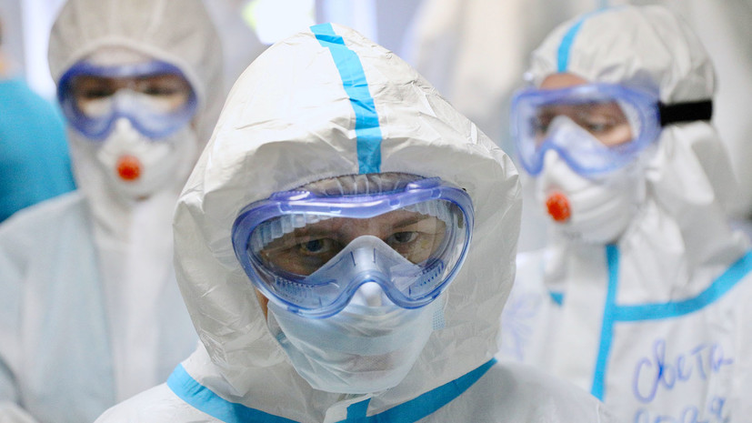 В России за сутки зафиксировано 4785 случаев коронавируса