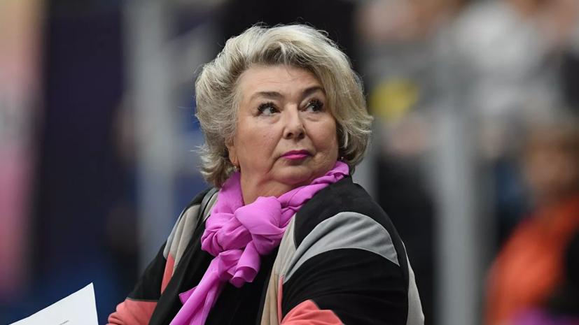 Тарасова допустила возможность участия Медведевой в ранних этапах Кубка России