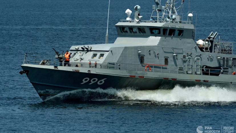 Корабли ЧФ провели учения в Средиземном море