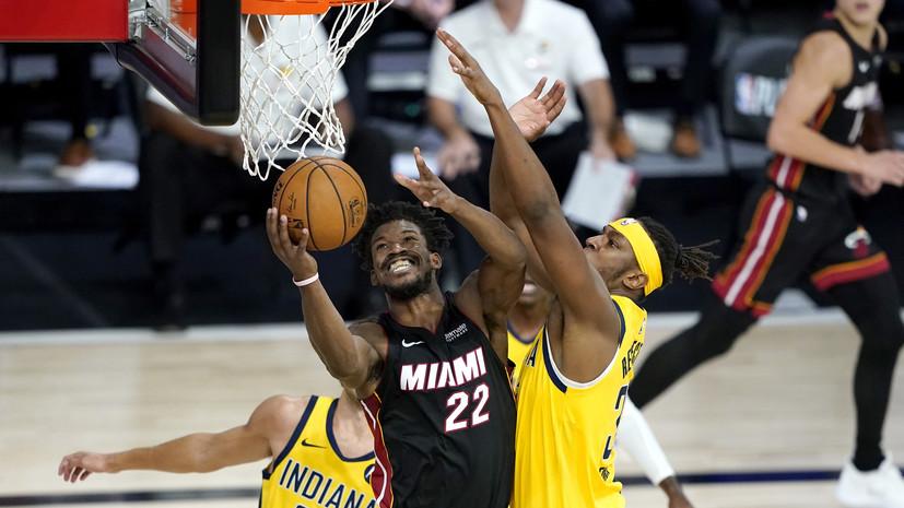 «Майами» увеличил преимущество в серии плей-офф НБА с «Индианой»