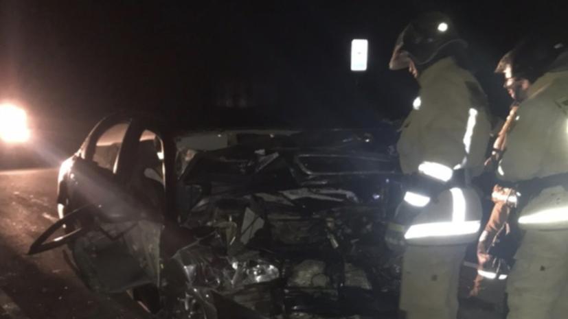 Три человека погибли в ДТП с маршруткой в Ленинградской области