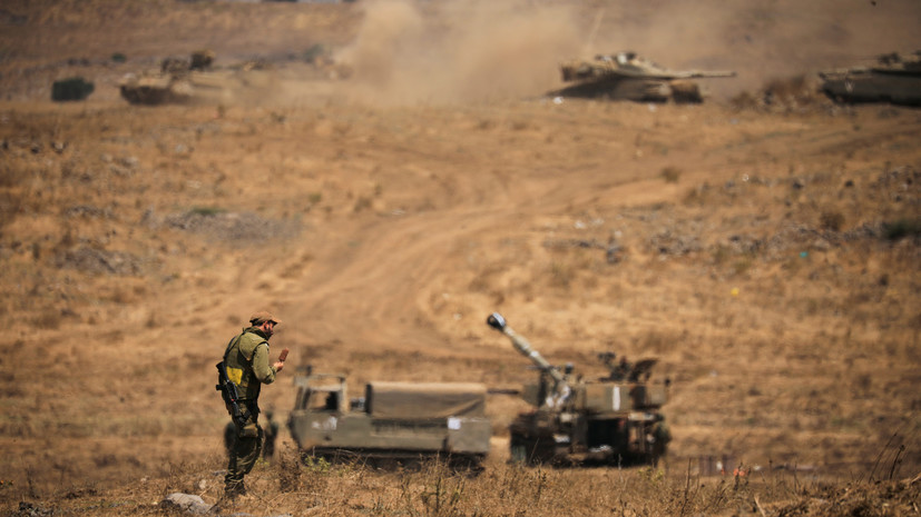 Израиль нанёс удары по военному объекту ХАМАС в ответ на обстрел