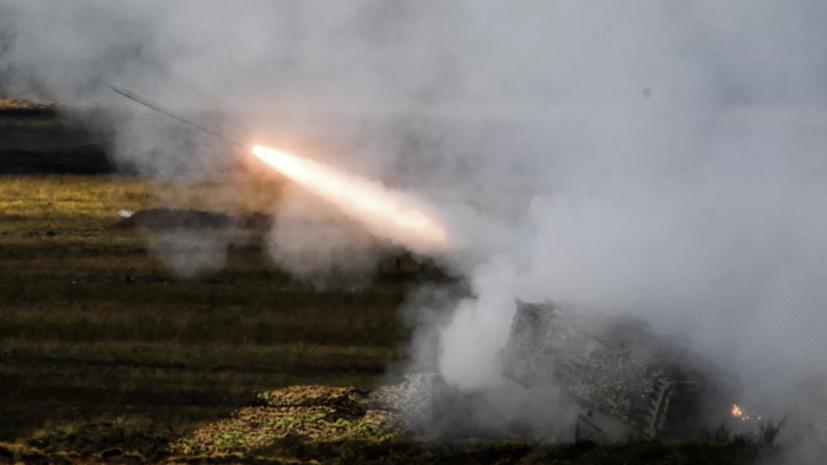 Тяжёлую огнемётную систему ТОС-2 задействуют в учениях«Кавказ-2020»