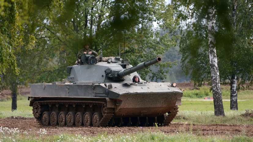 Российский танк «Спрут-СДМ1» передали нагосиспытания