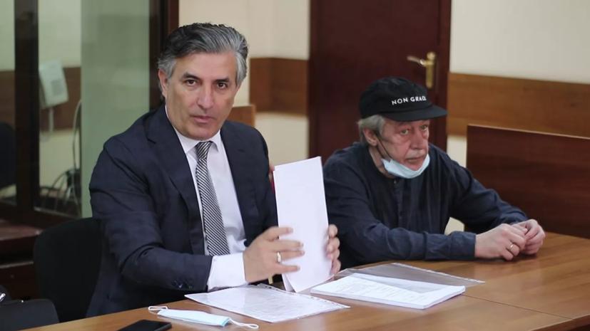 Ефремов в суде отказался от адвоката Пашаева