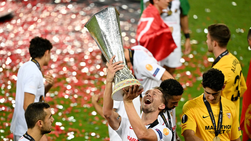 Автор дубля в ворота «Интера» де Йонг признан лучшим игроком финала Лиги Европы