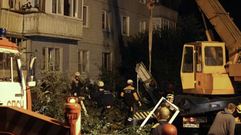 Ещё два тела обнаружены под завалами дома в Ярославле