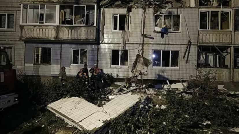 После взрыва газа в доме в Ярославле полностью разрушены шесть квартир