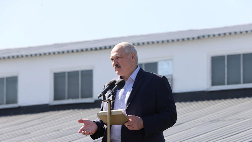 Лукашенко о ситуации в Белоруссии: всё идёт по плану «цветных революций»