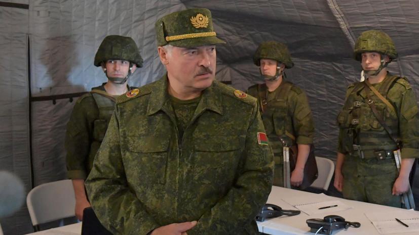 Лукашенко рассказал о зачинщиках беспорядков в Белоруссии за границей
