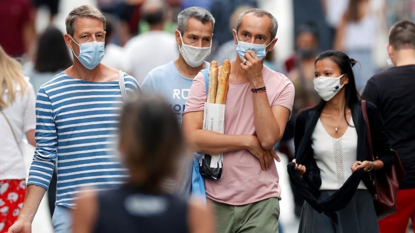 В ВОЗ рассказали о минимальном возрасте ношения маски