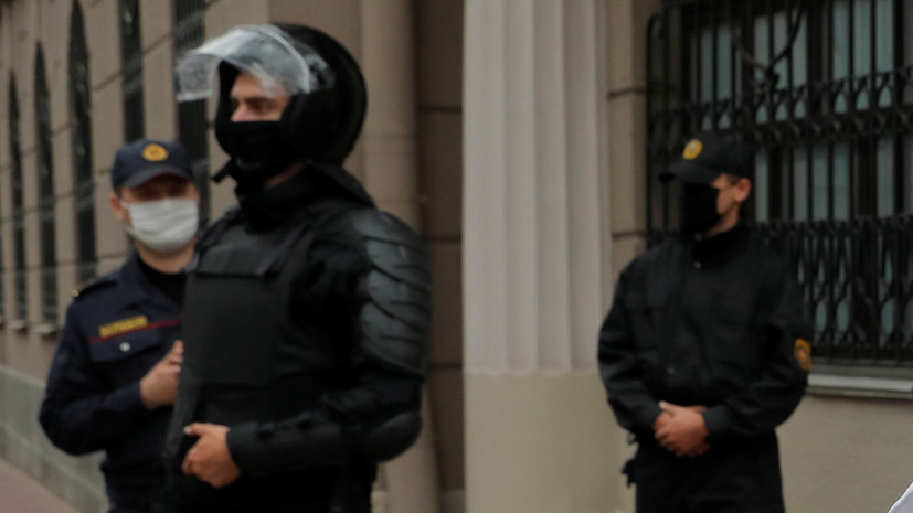 Минская милиция предостерегла от провокаций