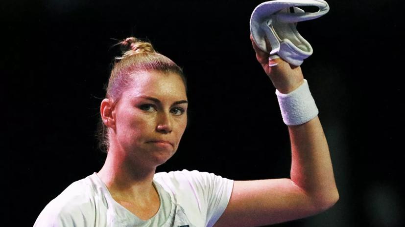 Звонарёва одолела Линетт и вышла во второй круг турнира WTA в Нью-Йорке