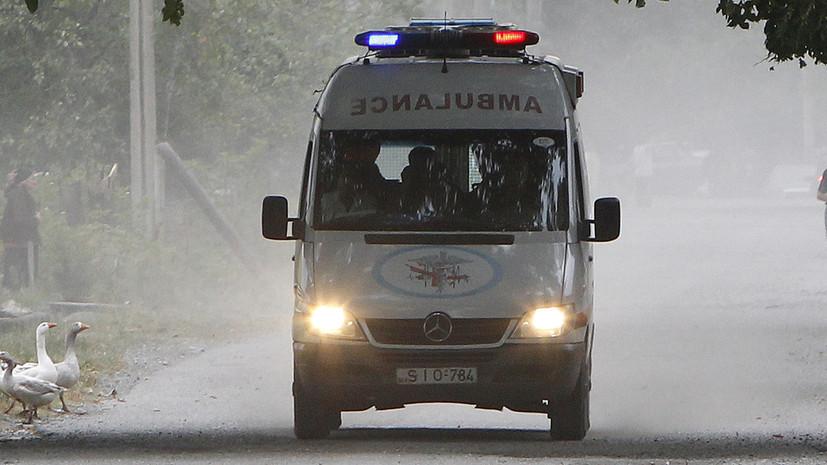 В Грузии 12 человек погибли в ДТП с пассажирским микроавтобусом