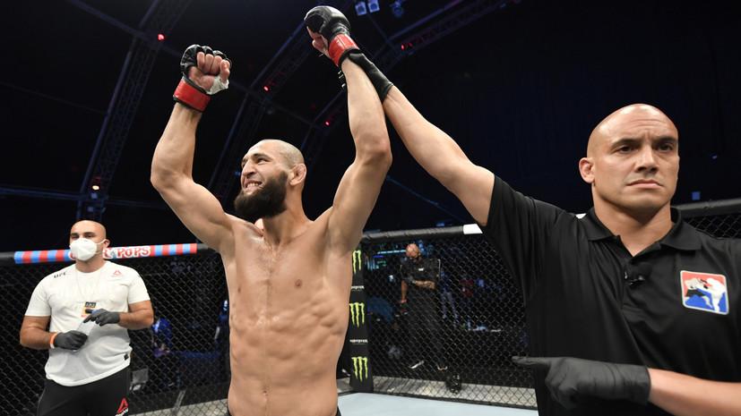 Исаев восхитился успехами Чимаева в UFC