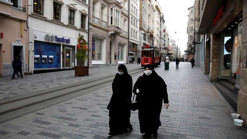 Число случаев заболевания коронавирусом в Турции превысило 258 тысяч
