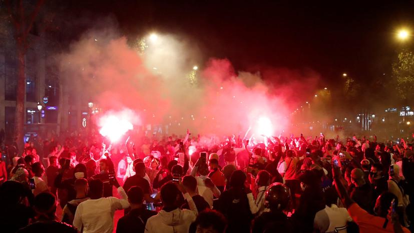 Полиция Парижа применила слезоточивый газ при разгоне болельщиков после финала ЛЧ