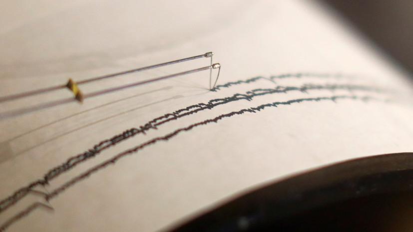 Землетрясение магнитудой 5,4 произошло в Тихом океане