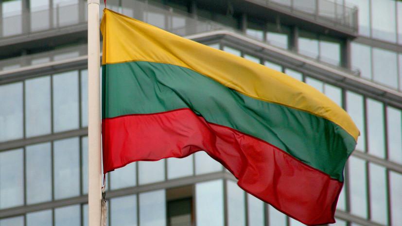 Вильнюс вручил Минску ноту из-за нарушения воздушного пространства