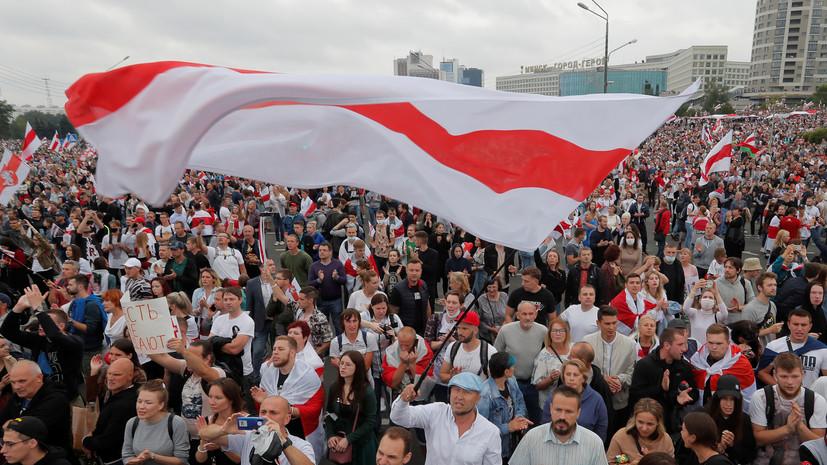 В Кремле заявили о признаках внешнего вмешательства в дела Белоруссии