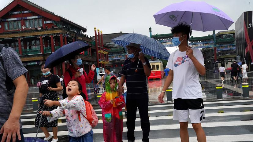 В Китае за сутки выявили 14 случаев инфицирования коронавирусом