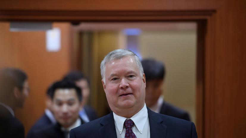 Первый замгоссекретаря США прибыл в Москву
